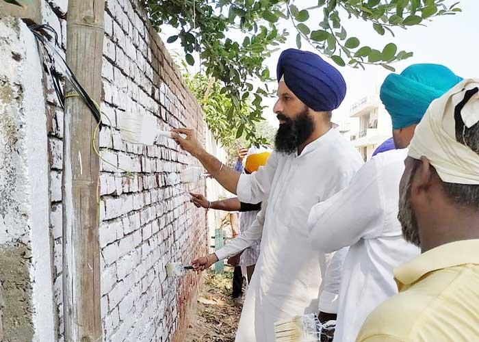 Majithia Sultanpur Lodhi Painting Wall White