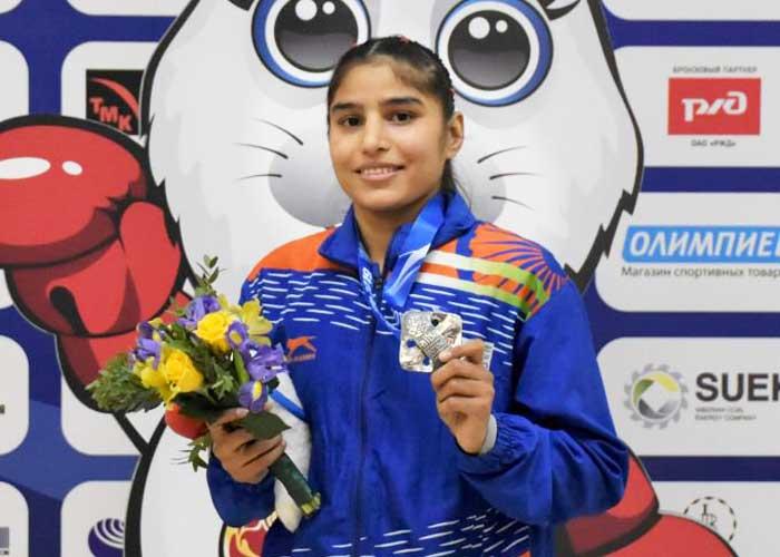 Manju Rani LPU Silver Medal World Boxing Championship