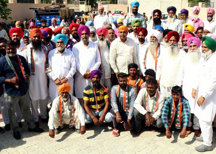 Manpreet Ayali joins Congress Sandeep Sandhu