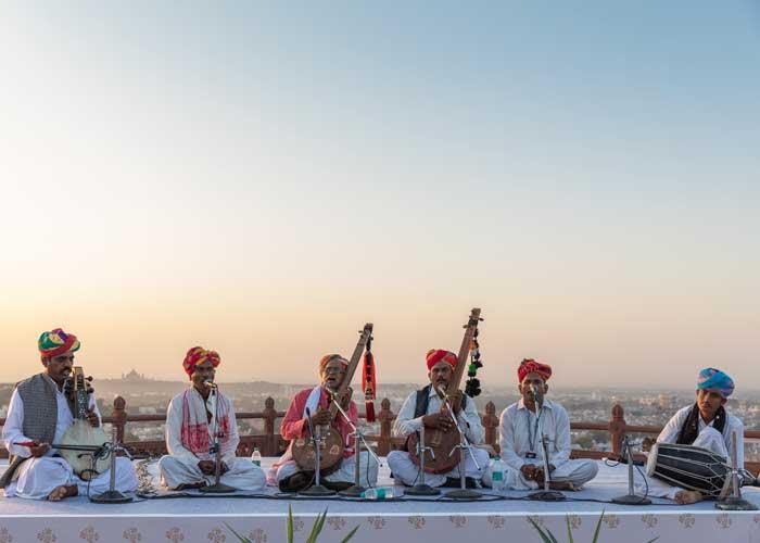 Mehrangarh Fort musical event