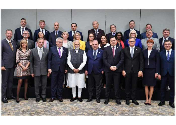 Modi European Parliament team