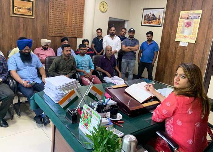 Nayan Jassal RTA e rickshaw meeting