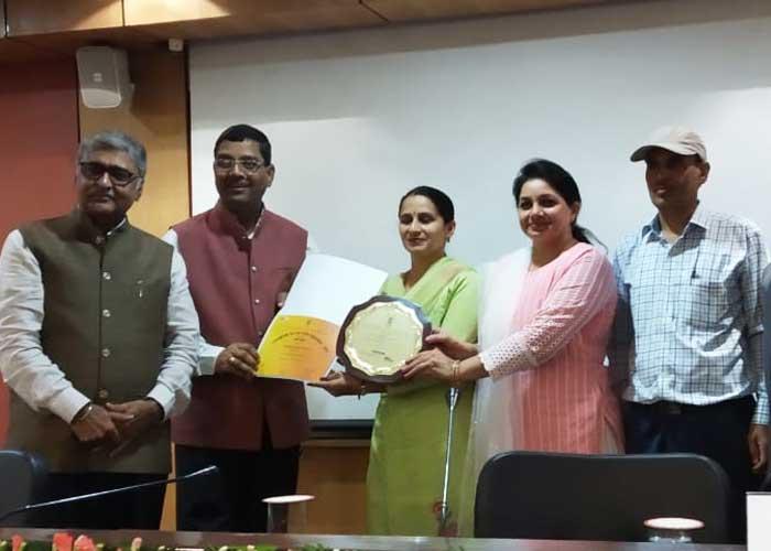 PAU Mohinder Singh Randhawa Library ICAR Award