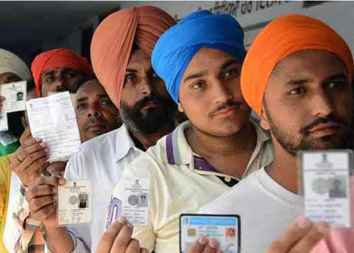 Punjab elections voting