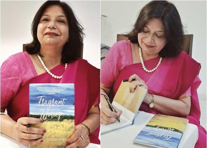 Rajni Sekhri Sibal Fragrant Words book launch