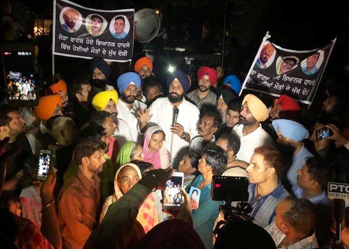 SAD Amritsar Dussehra tragedy candle march