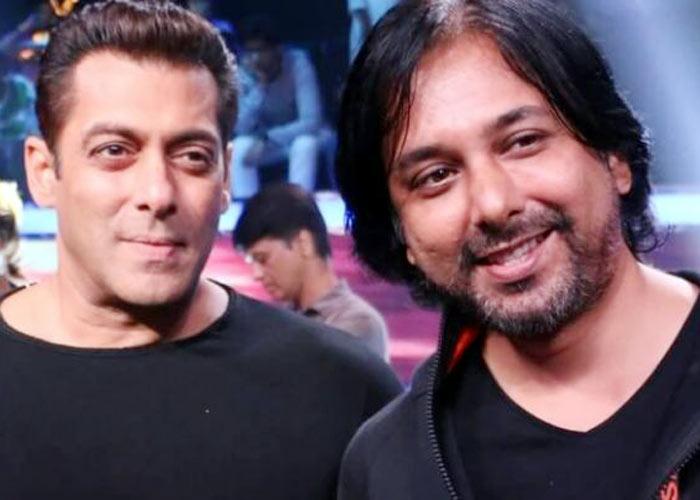Salman Khan with Shiddhartha Dey