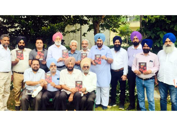Sukhwant Gill book released at Punjabi Bhawan