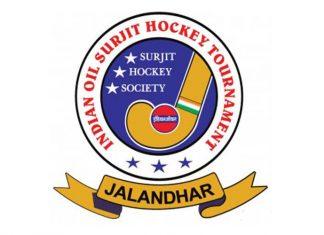Surjit Hockey Logo