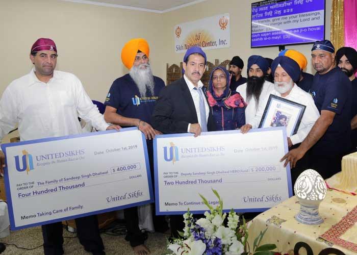 United Sikhs Raise fund for Sandeep Dhaliwal