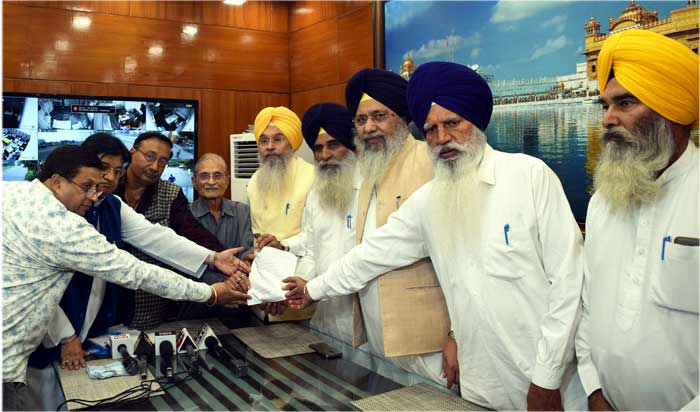 Brahmarishi Kumar Apology letter to SGPC