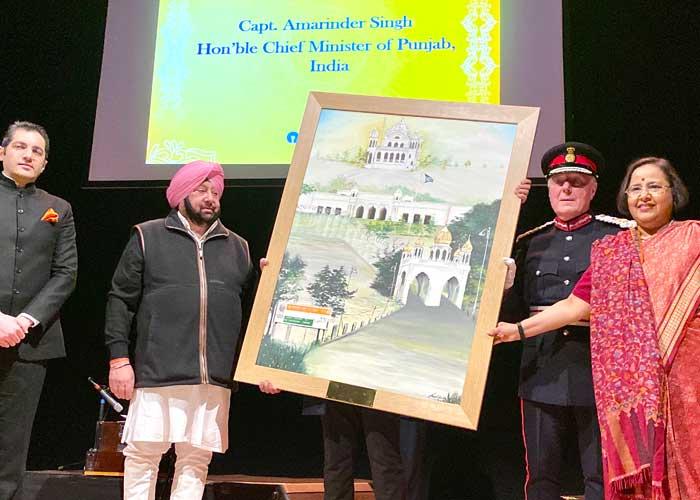 Capt Amarinder Birmingham Guru Nanak event
