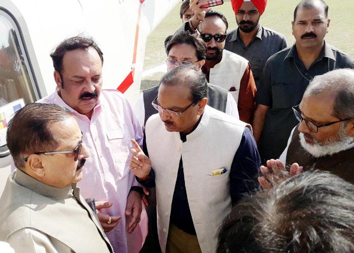Chandra Gaind welcome Jatinder Singh