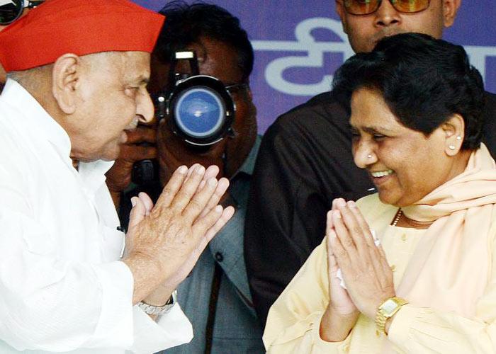 Mayawati meet Mulayam