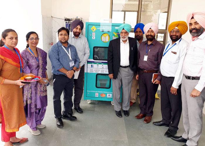 PPCB Marwaha inaugurates Plastic Shredding Machines