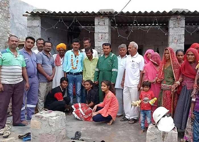 Prem Bhargav with family
