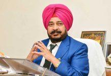 Sadhu Singh Dharamsot Pink