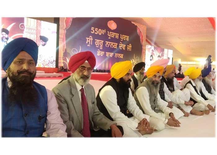 Sikh Leaders in Dera Baba Nanak