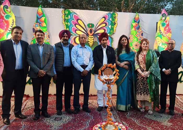 Tript Bajwa Cambridge Int School Annual Function