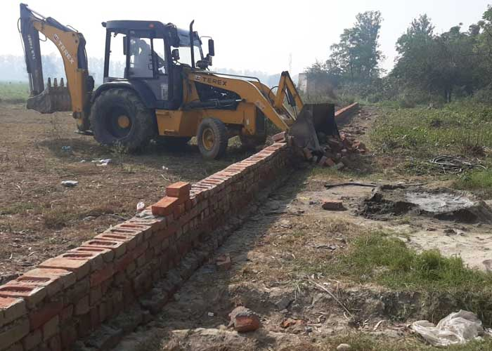 Unauthorized Colonies demolished in Hoshiarpur