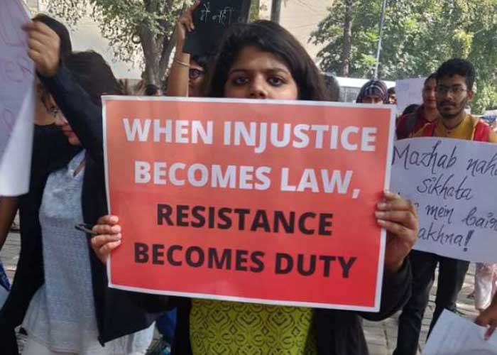 CAA Protest in India