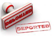 Deported Stamp