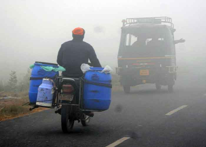 Fog Cold wave in Punjab