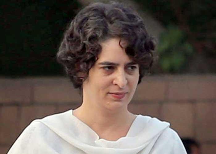 Priyanka Gandhi lead