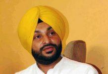 Ravneet Bittu Yellow Turban