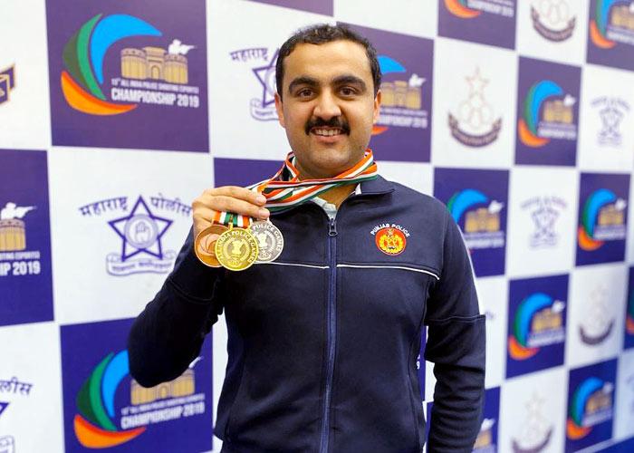 Ajitesh Kaushal Polic Shooting Champion