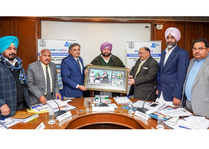 Amarinder receives Krishi Karman Award