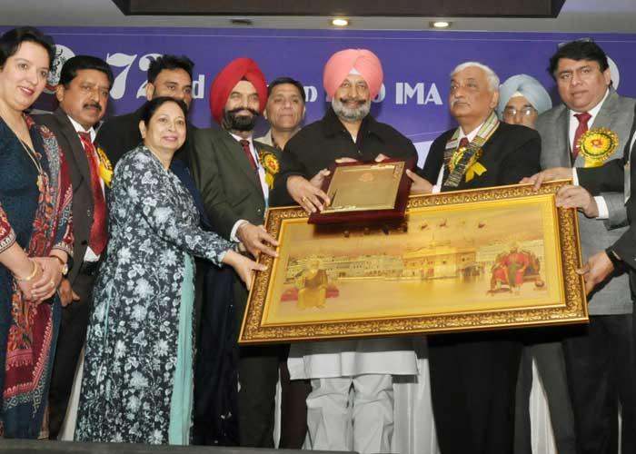Balbir Sidhu IMA Annual Function Jalandhar