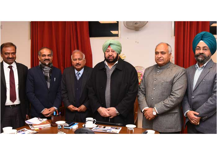 Capt Amarinder Waste to Energy Project meeting