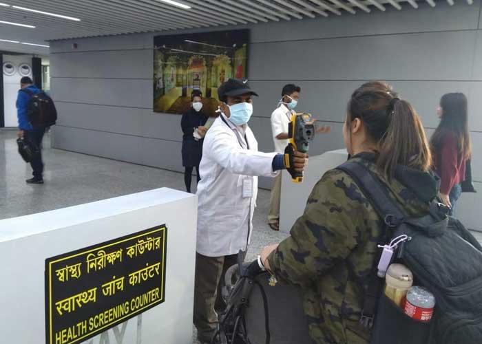 Coronavirus scan on Indian Airport