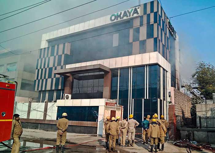 Delhi Building Fire 2Jan20