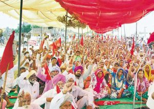 Farmers Protest in Punjab