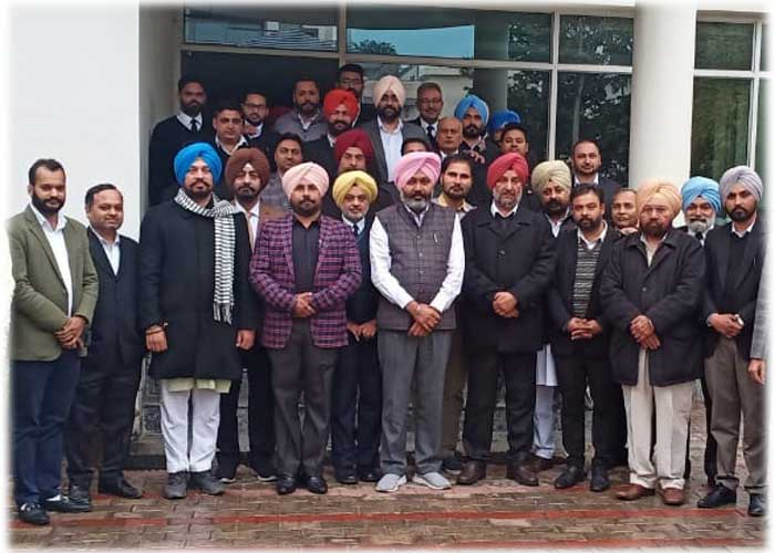 Gian Singh Mungo became AAP Legal Wing head