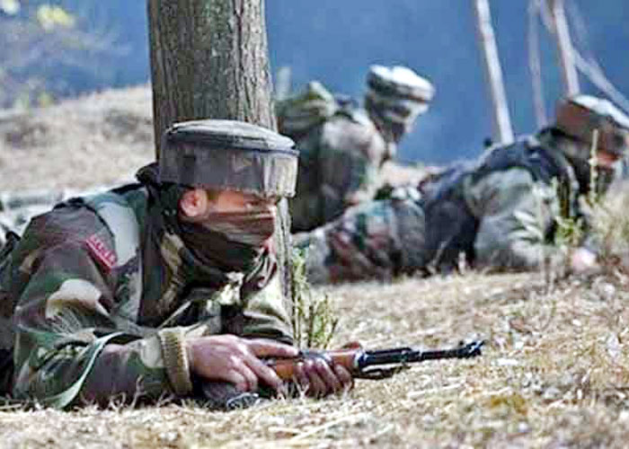 Gunfight in Kashmir