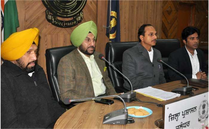Gurpreet Bhullar Varinder Sharma Peace Committee meeting