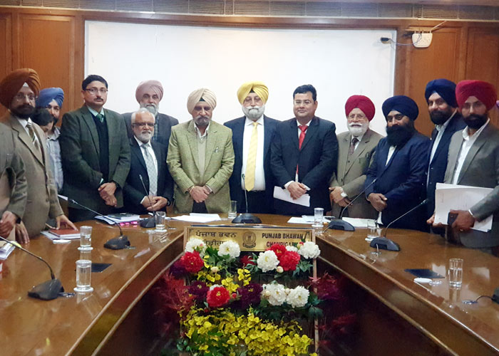 JAC delegation meets Tript Bajwa