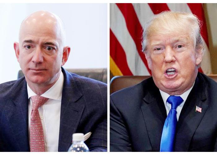 Jeff Bezos Donald Trump