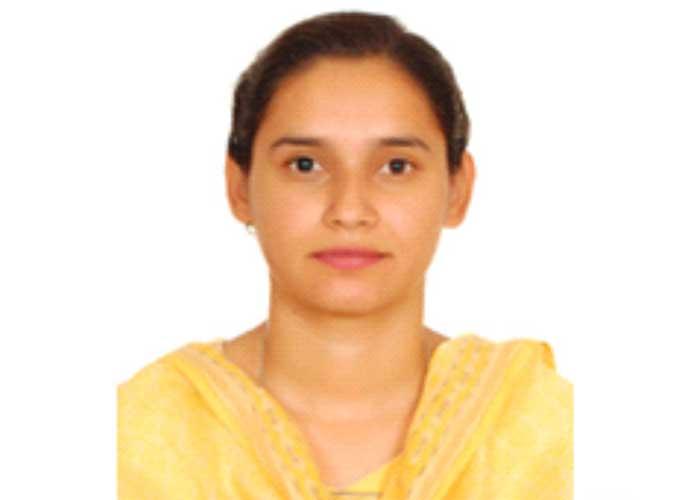 Manjot Kaur PAU Student