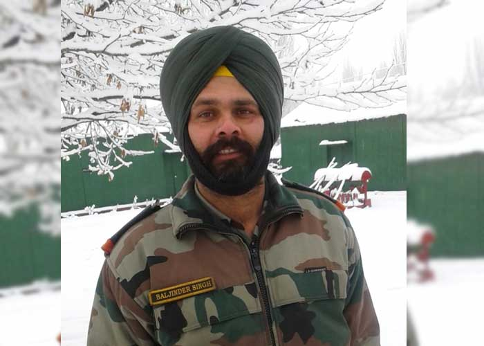Martyr Havildar Baljinder Singh