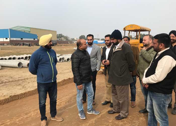 Parminder Singh Gill Glada Estate Inspection Ludhiana