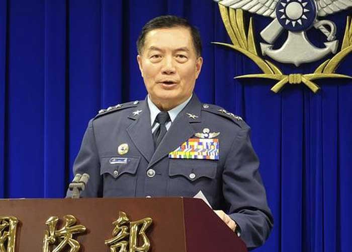 Shen Yi ming Taiwan military chief