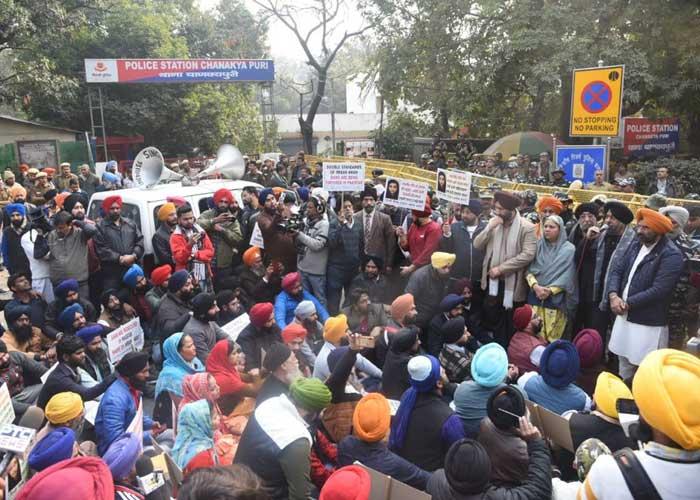 Sikhs Protest Against Nankana Sahib Attack Delhi
