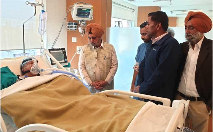Tript Bajwa enquired about Dalip Kaur Tiwana health