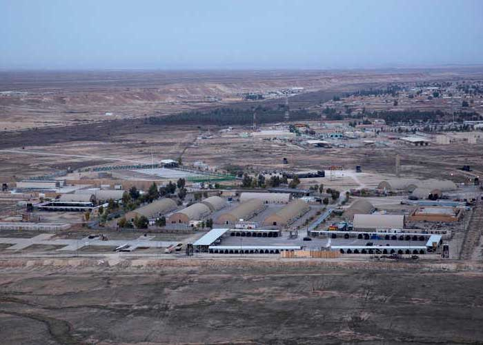 US Airbase Ain al Asad Iraq