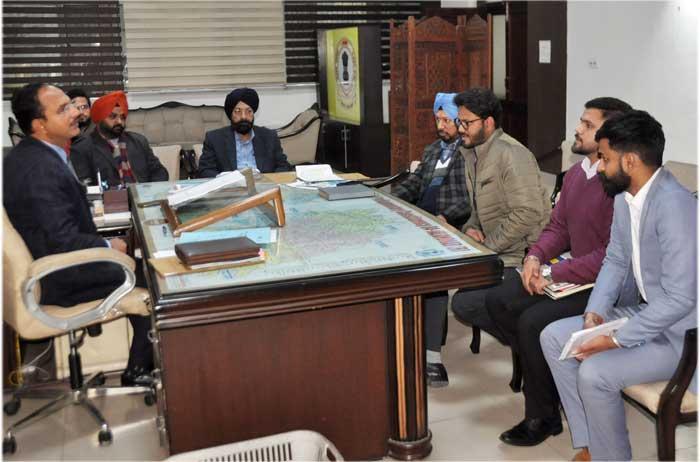 Varinder Sharma Raj Kumar Bali RPO meeting