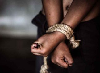 Abduction Hands Tied Up Kidnap